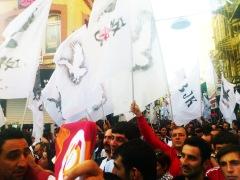 Carsi-demonstration (och GS-folk)