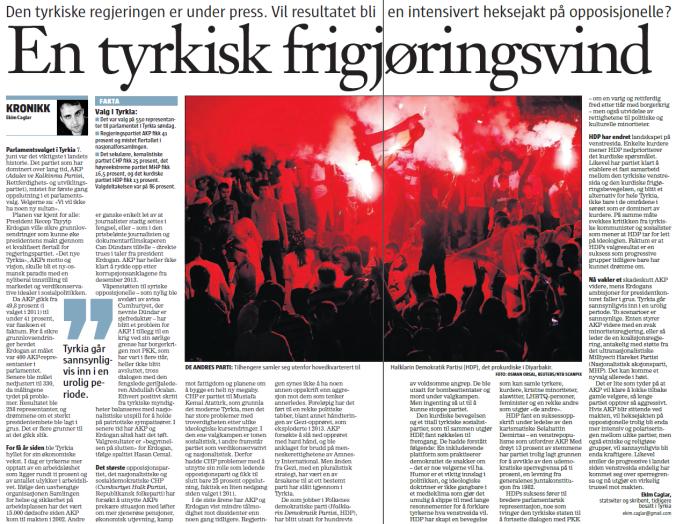 Klassekampen-Turkiet-10juni2015